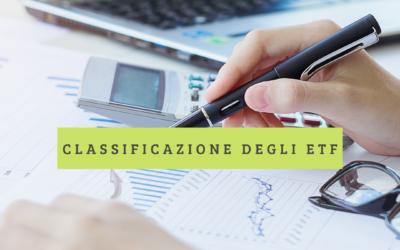 25. Classificazione degli ETF