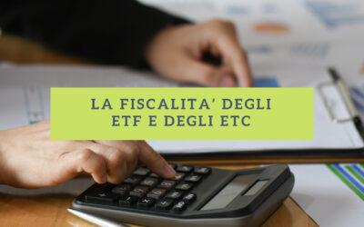 28. La fiscalità degli ETF e degli ETC
